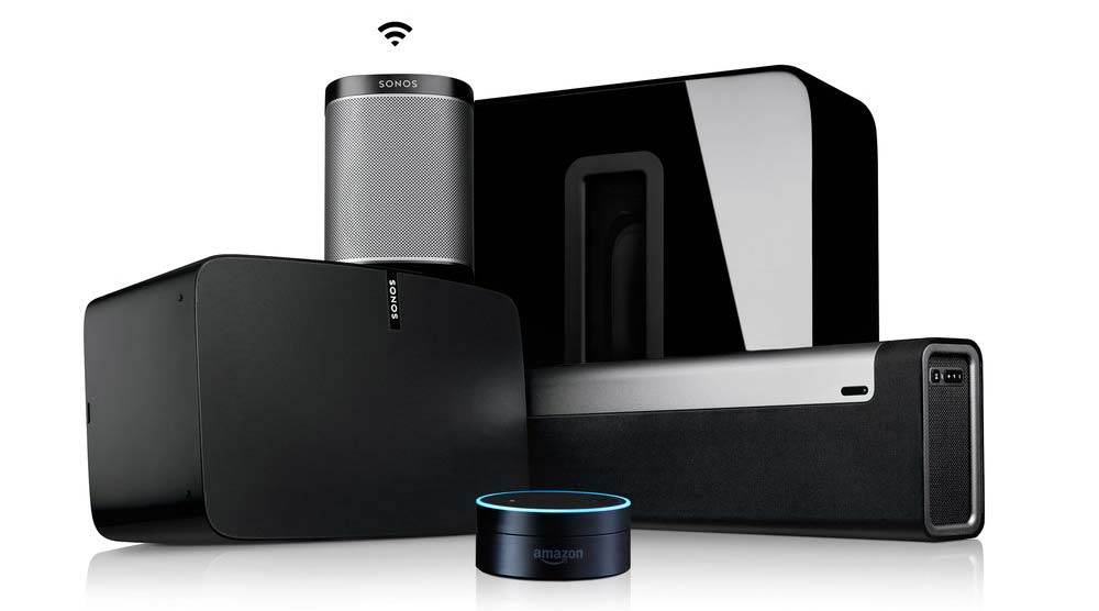 Amazon's integration will rely on the voice-activated Echo automation products.