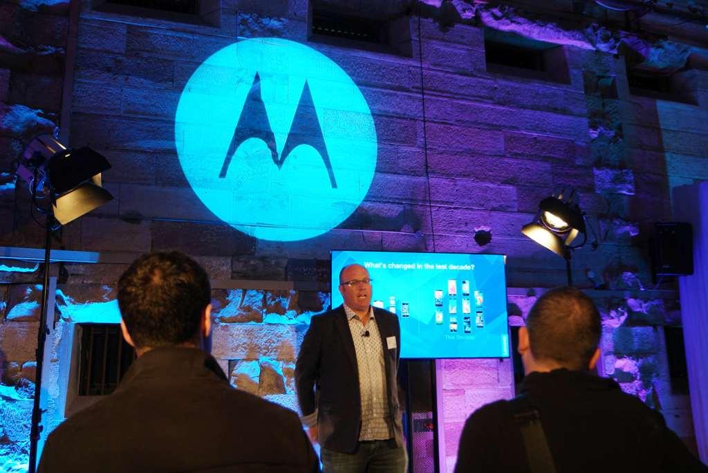 Motorola's Andrew Wells
