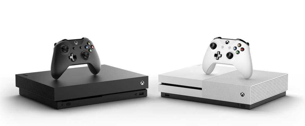 Xbox One X and Xbox One X