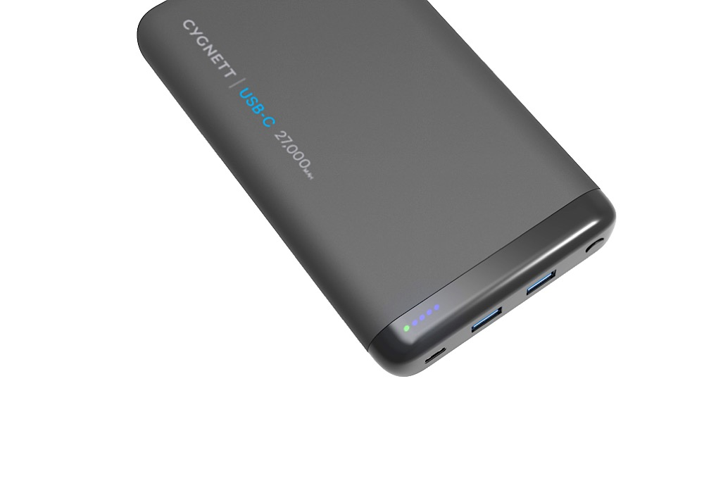 Cygnett ChargeUp 27000mAh power bank battery
