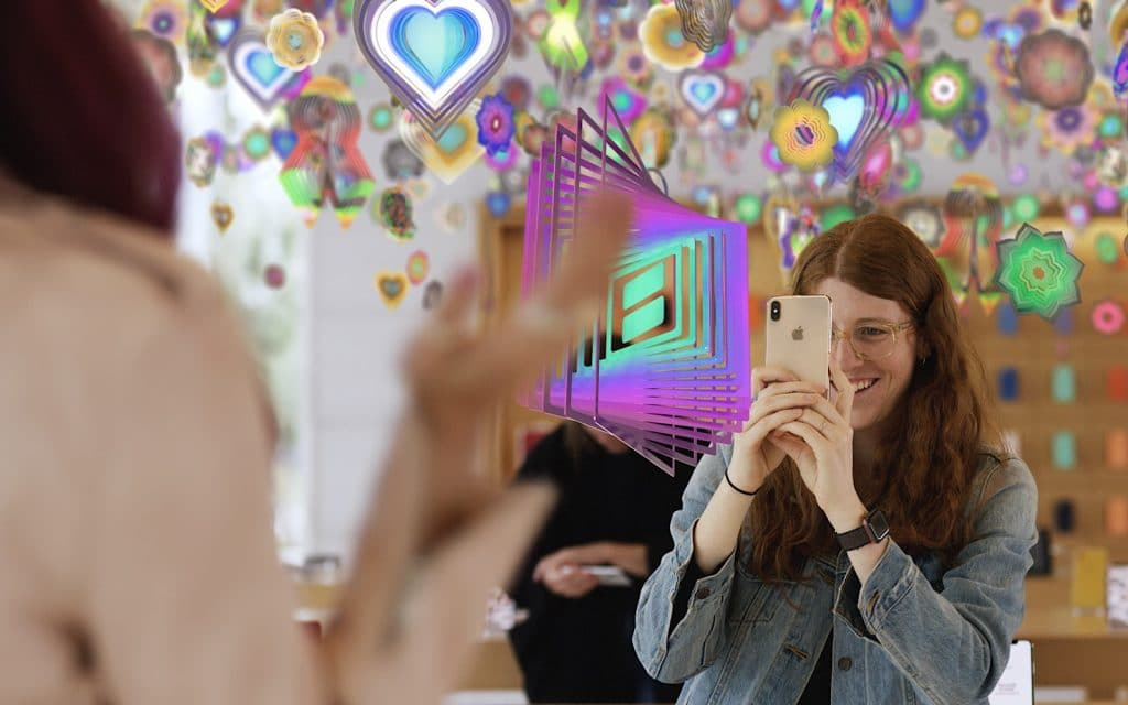 "Nick Cave's ""Amass"" used in the [AR]T experience at Apple Stores"