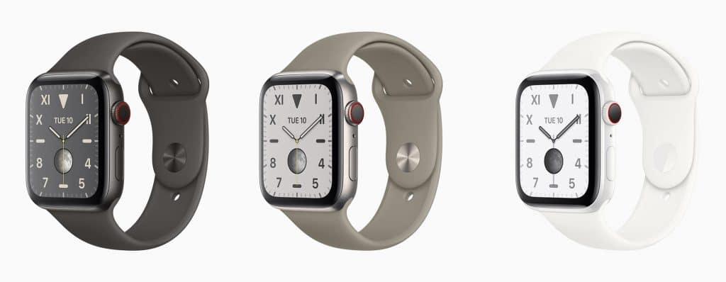 Apple Watch Series 5 in titanium and ceramic