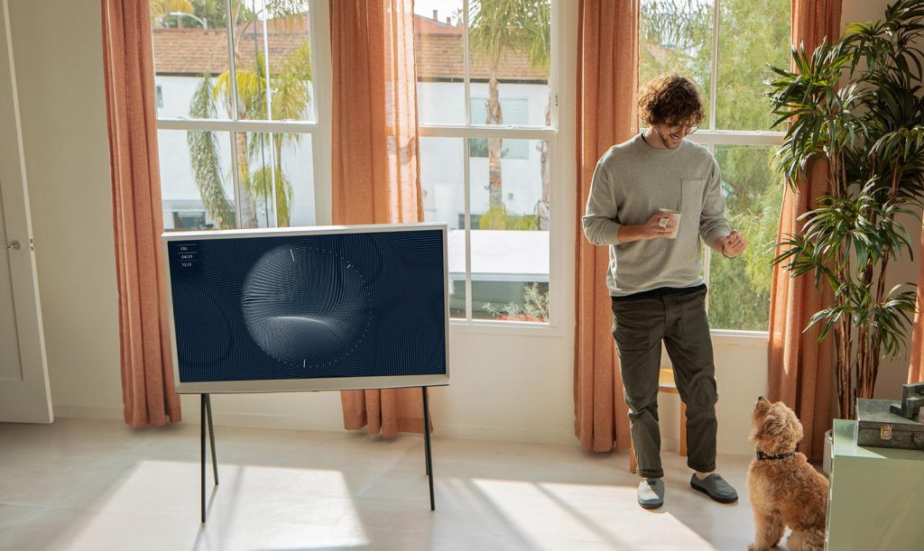 Samsung Serif 4K TV