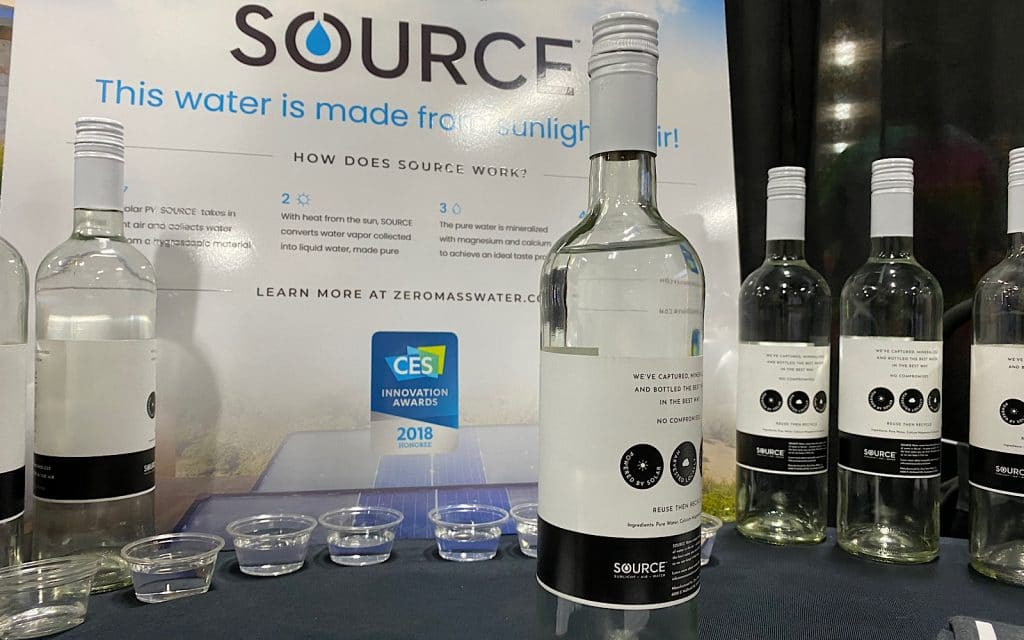 Zero Mass Water Source at CES 2020