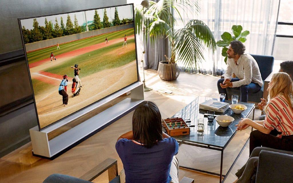 LG OLED Signature TV (CES 2020)