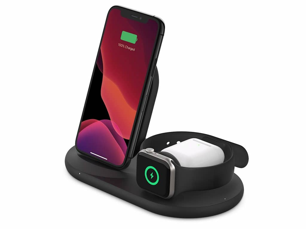 Belkin's wireless charge stand