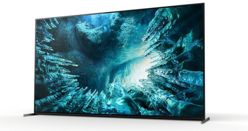 Sony Z8H 8K LED-backlit LCD TV (CES 2020)