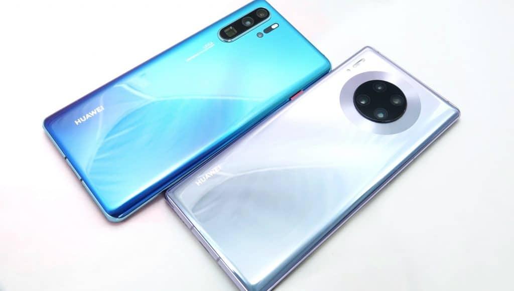 Huawei P30 Pro and Huawei Mate 30 Pro