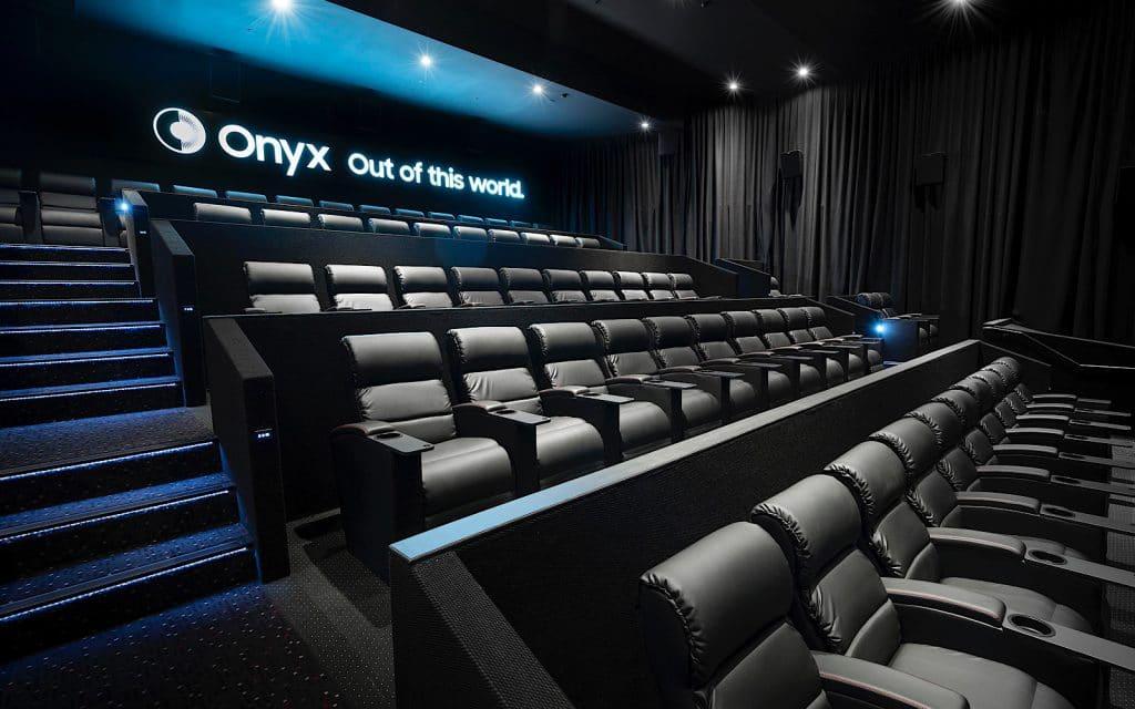 Samsung Onyx LED Cinema screen
