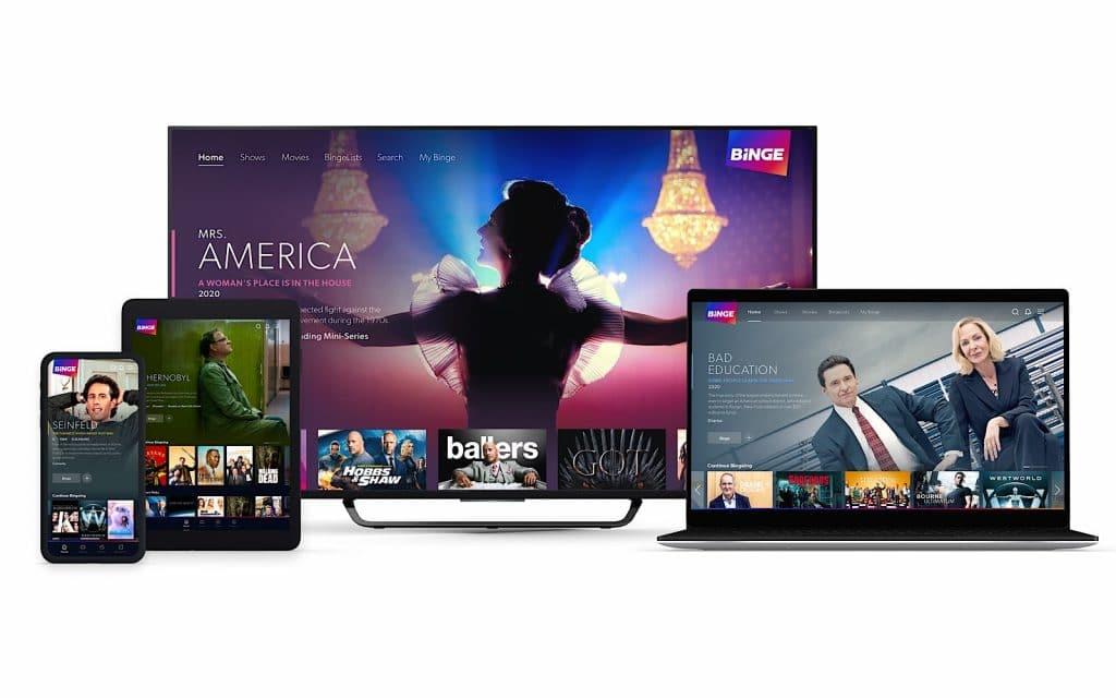 Binge launches on May 25 in Australia