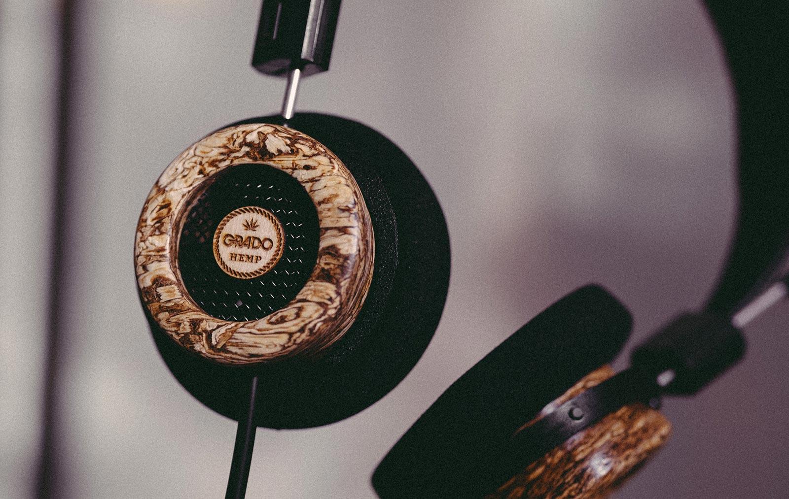 The Hemp Headphone by Grado
