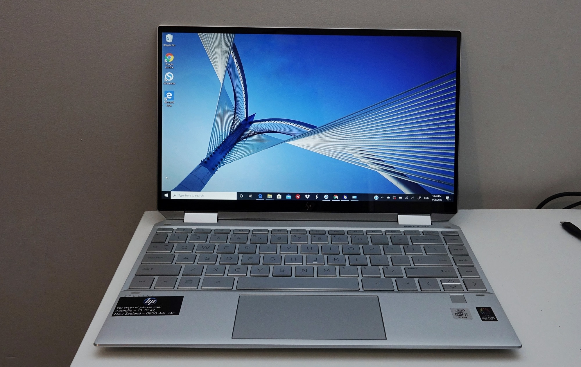 The HP Spectre X360 in 2020.