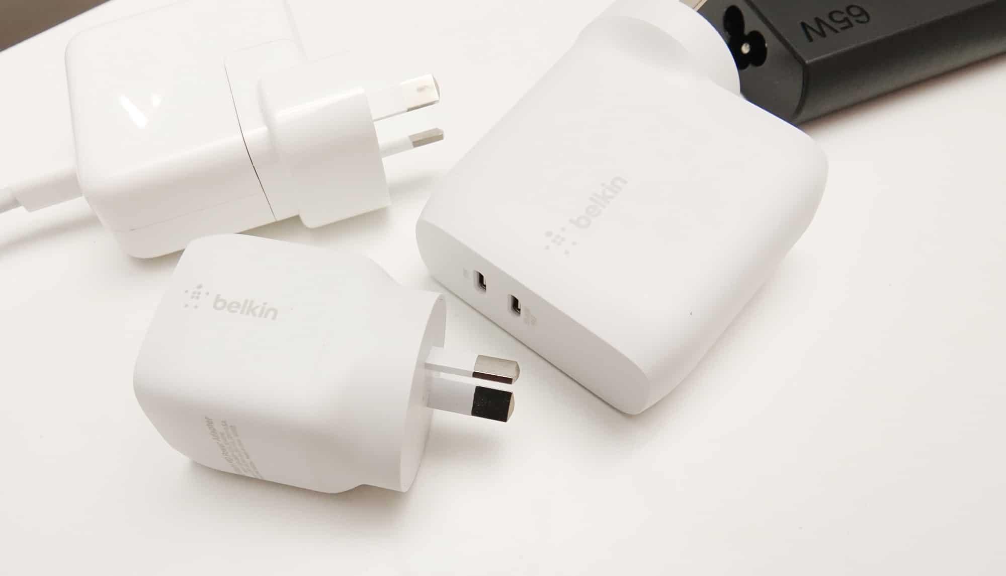 Belkin GaN Boost Charge Packs