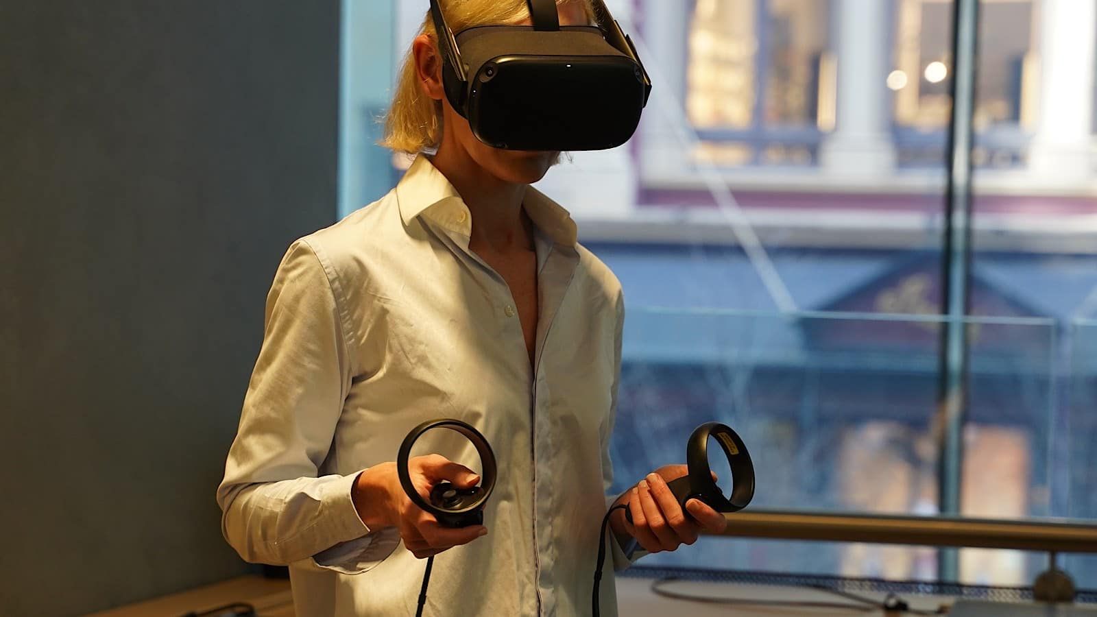 Optus 5G VR test in Sydney