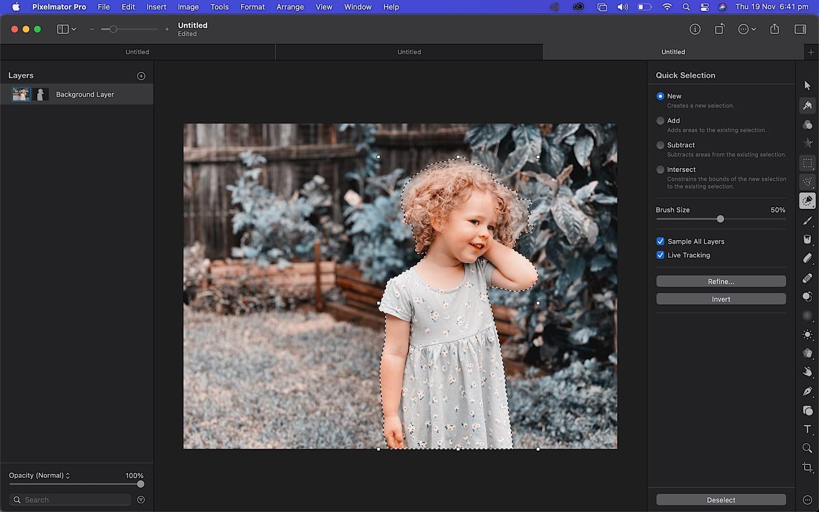 Pixelmator on the M1 MacBook Pro