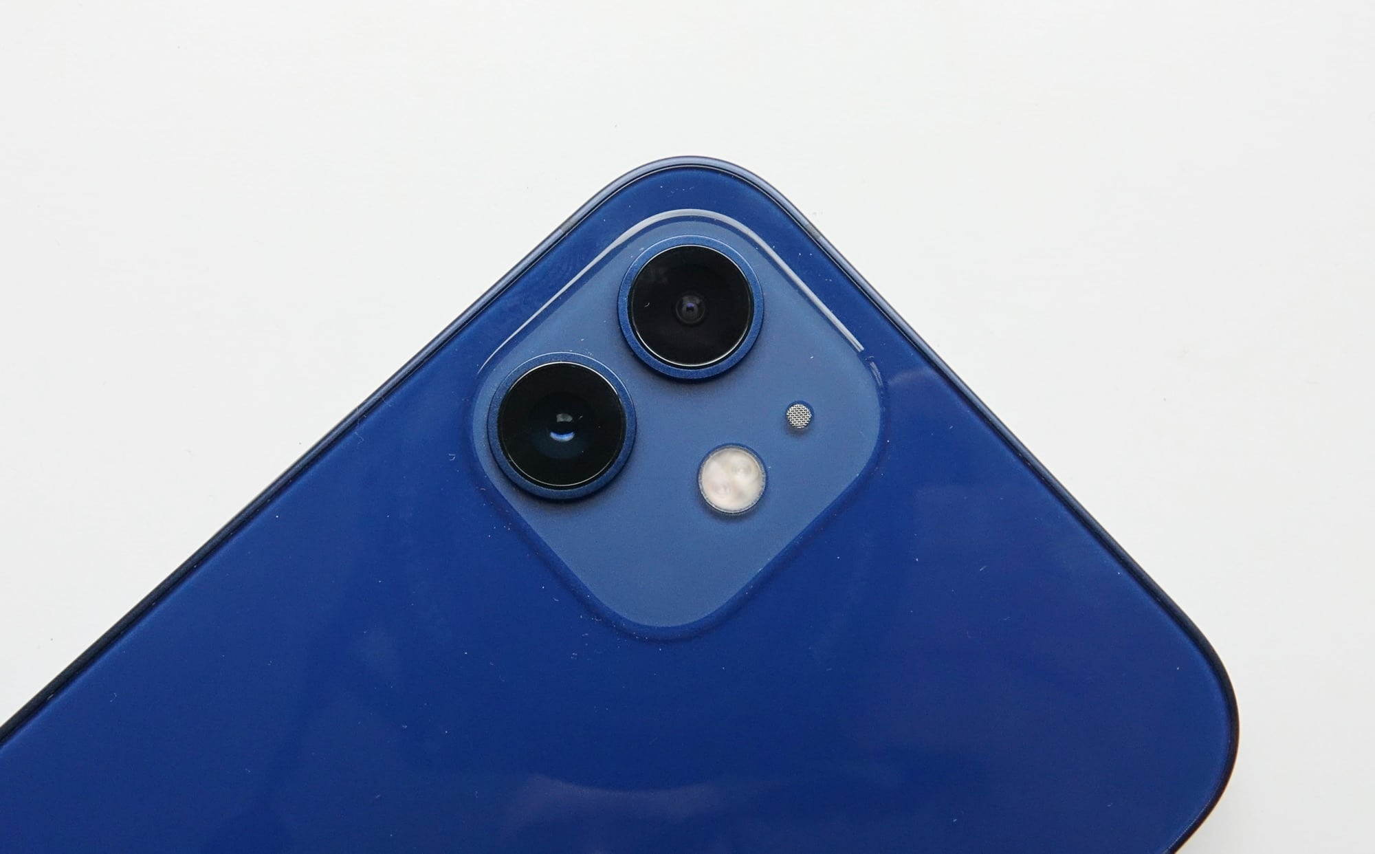 The cameras on the iPhone 12