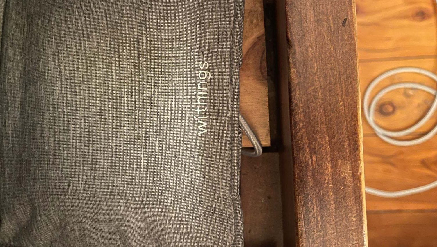 The Sleep Analyser under the bed