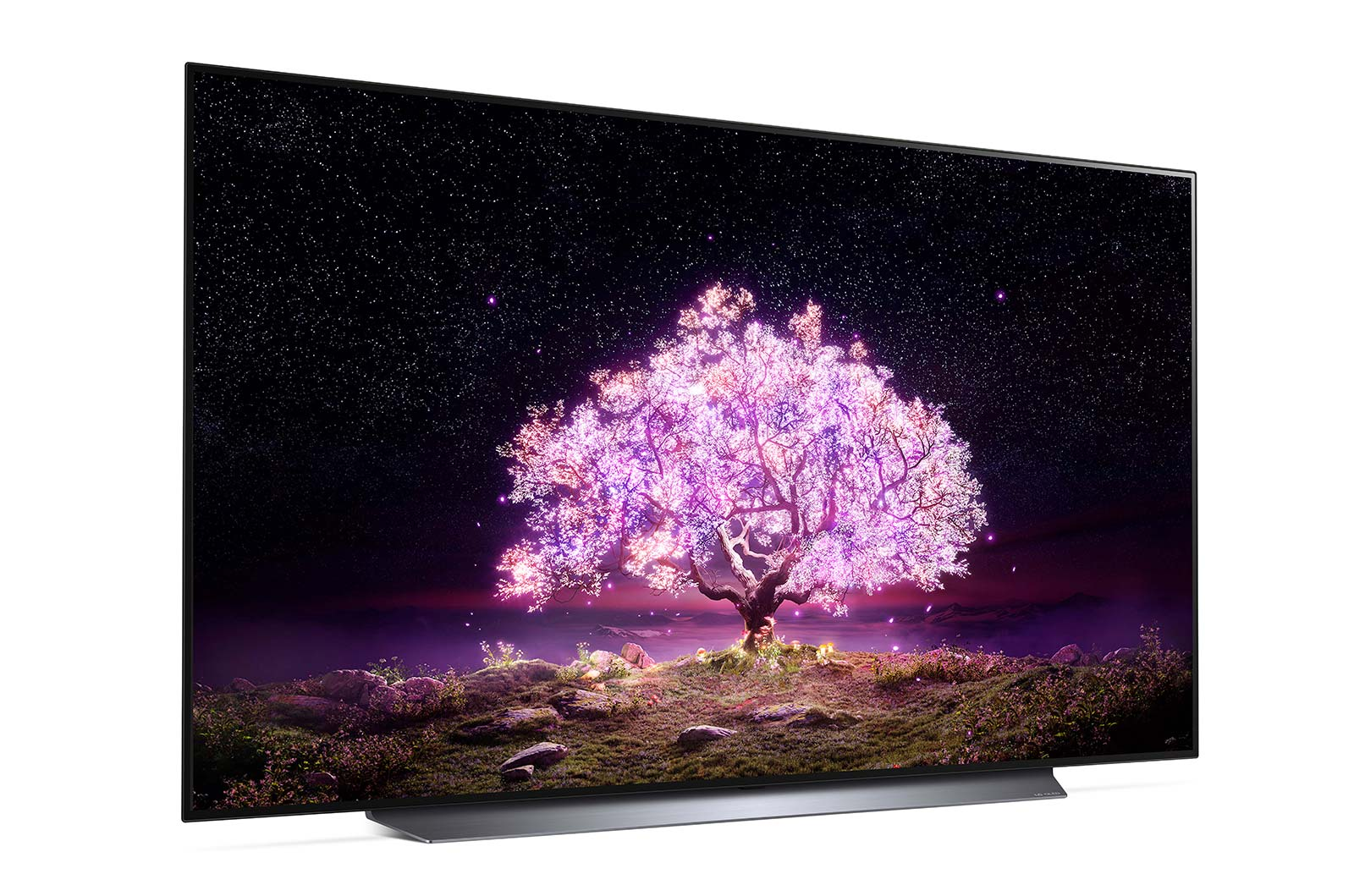 LG's C1 OLED TV, which won't feature the OLED Evo panel.
